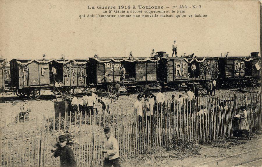 La guerre de 1914 à Toulouse. 1re série n° 7.